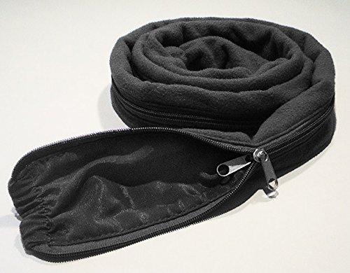 Tender Tubing CPAP Tubing Insulator Cover, 6 Ft. (BLACK)