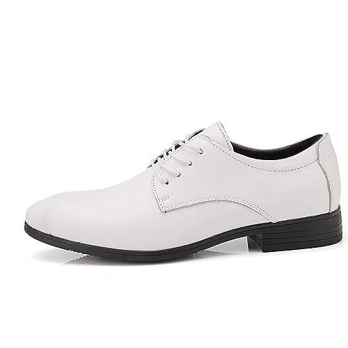 Zapatos de Vestir para Hombre Oxfords con Cordones, Punta ...