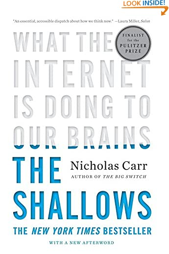 Nicholas Carr (Author)(594)Buy new: $15.95$10.84275 used & newfrom$1.35