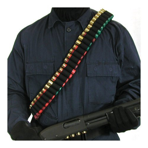 BlackHawk Shotgun Bandolier, Holds 55 Shells,