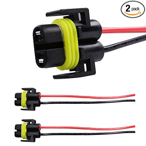 HUIQIAODS H11 H8 881 880 Adapter Wiring Harness Socket Connector For on
