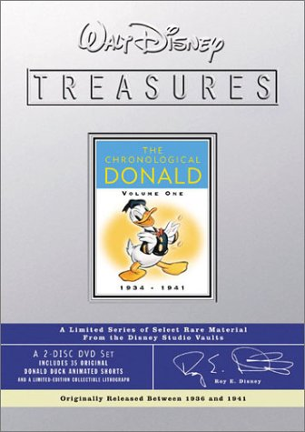 Walt Disney Treasures - The Chronological Donald, Volume One (1934 - 1941) Disney Treasures Donald Duck