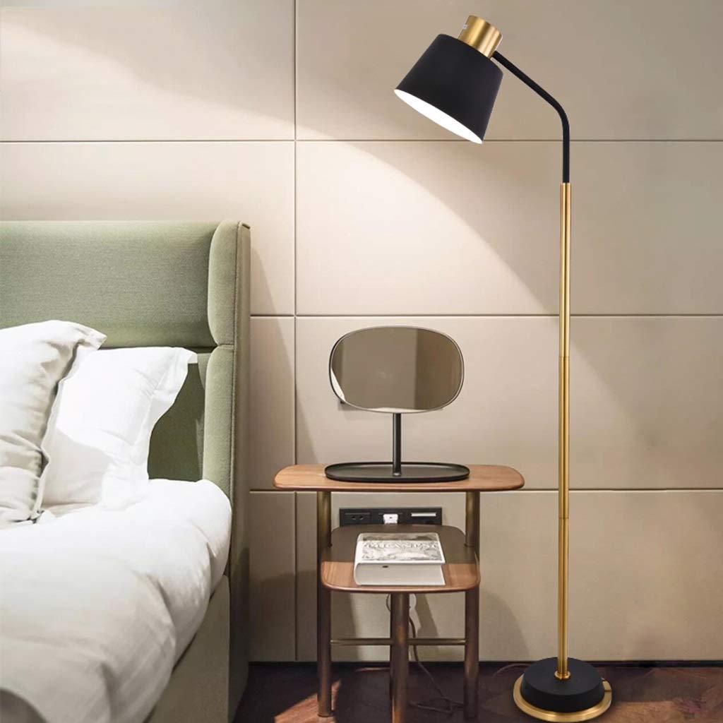 SRL LED Stehlampe Wohnzimmer Wohnzimmer Wohnzimmer Schlafzimmer Studie E27   1 Postmoderne Grünikale Lesen Stehlampe Lesen Tischlampe (Farbe   schwarz (6W warm light)) B07J5CFV21 | Genial  1a94fc