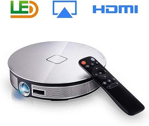 T ECH Proyector WiFi, Sonido Envolvente De 360 ° Proyector LDE ...