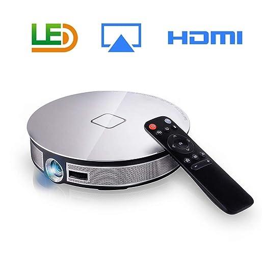 T ECH Proyector WiFi, Sonido Envolvente De 360 ° Proyector LDE De ...