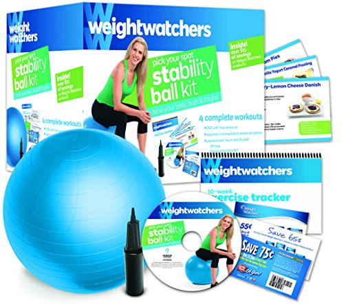 Weight Watchers: Pick Your Spot Stability Ball Kit