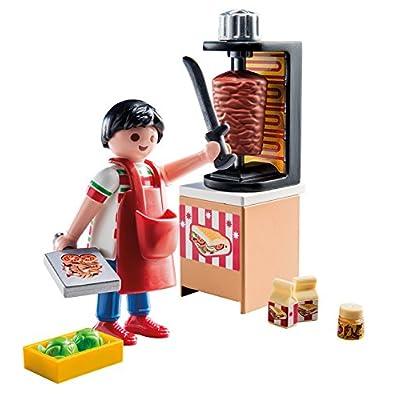 PLAYMOBIL Kebab Vendor Building Set: Toys & Games