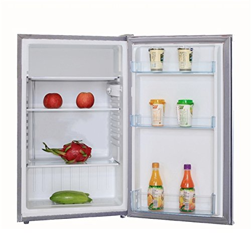 SIA LFS01SV 49cm Silver Free Standing Under Counter Larder Fridge | A+ Rating