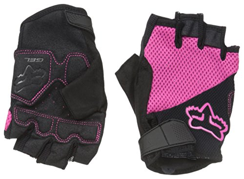 - Fox Women's Reflex Shorts Gel Gloves, Pink, Large