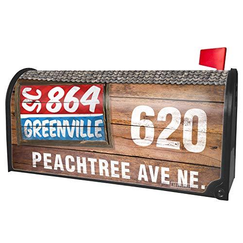 NEONBLOND Custom Mailbox Cover 864 Greenville, SC -