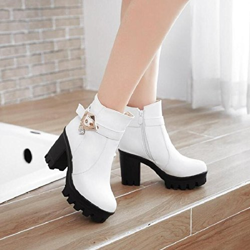 6b73ce2327f8 ... Schuhe hohen LGK Schuhe raue Frühling Winter weibliche Sohlen match  Stiefelette student amp FA Stiefel ...