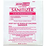 Diversey Beer Clean Last Rinse Glass Sanitizer.25oz Powder Packet (100 Pack)