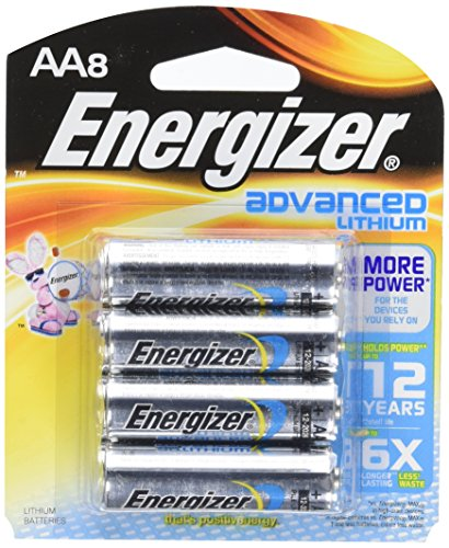 Energizer Advanced Lithium Batteries 8 Count