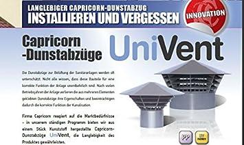 Máscarade ventilación - salida de aire - techo sistema original sistemas de apertura de 160 DN/150 para 150mm-tubo: Amazon.es: Bricolaje y herramientas