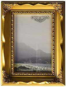 Imperial Frames 11 by 14-Inch/14 by 11-Inch Picture/Photo Frame, Gold Molding with Floral Designs