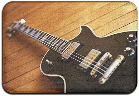 Pengyong - Alfombrillas de goma para guitarra eléctrica al aire ...