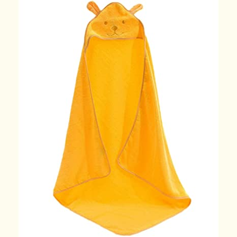 BLUESTAR bebé toalla de baño albornoz, con capucha algodón suave toalla de baño para bebé