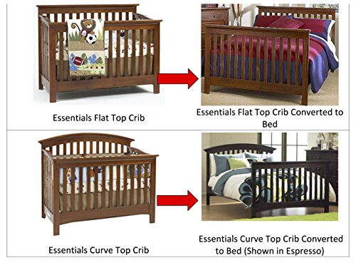 Amazon Com Full Size Conversion Kit Bed Rails For Baby Cache Cribs