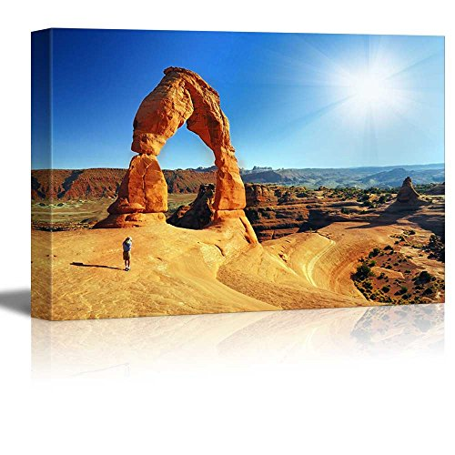 Beautiful Landscape Yellow Arches in National Park Home Deoration Wall Decor ing