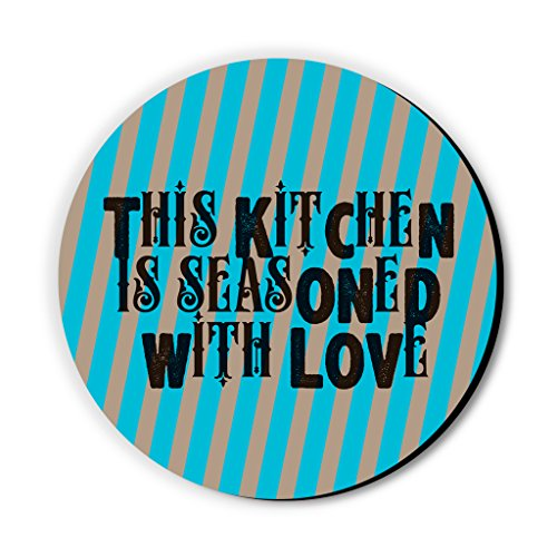 Seven Rays This Kitchen is Seasoned with Love Multipurpose Fridge Magnet
