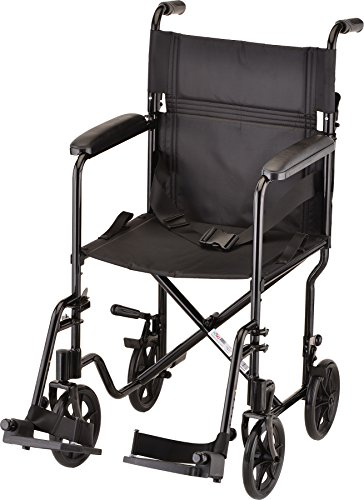 "NOVA Medical Products 19"" Lightweight Transport/Wheelchair,"