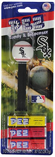 (PEZ MLB Candy Dispensers, Chicago White Sox, 0.87 Ounce (Pack of 12))