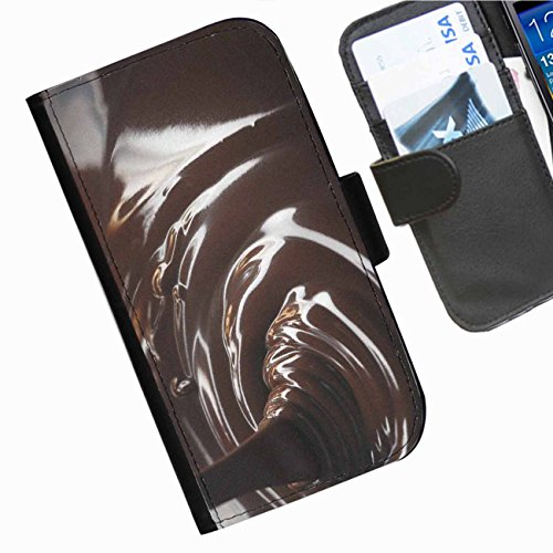 Hairyworm - Sweets Iphone 5, 5s leather side flip wallet phone case, cover