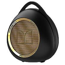 Monster Hotshot Portable Bluetooth Speaker with Carabiner, Black/Gold