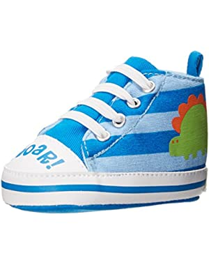 Roar Dinosaur High Top Fashion Sneakers (Infant)