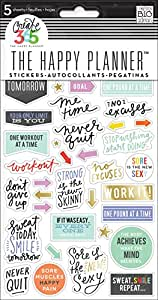 Amazon.com: me & my BIG ideas Fitness Stickers: Arts, Crafts ...