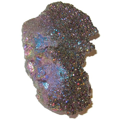 Divine Crystal - Satin Crystals Quartz Aura Cluster 4.8