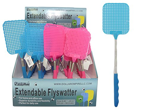 FLY WATTER EXTENDABLE 25CM->56.5CM, Case of 96 by DollarItemDirect