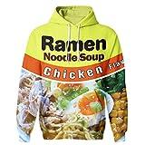 SAYM Unisex Galaxy Pockets 3D Pullover Hoodie Hooded Sweatshirts Hoodies NO34 M
