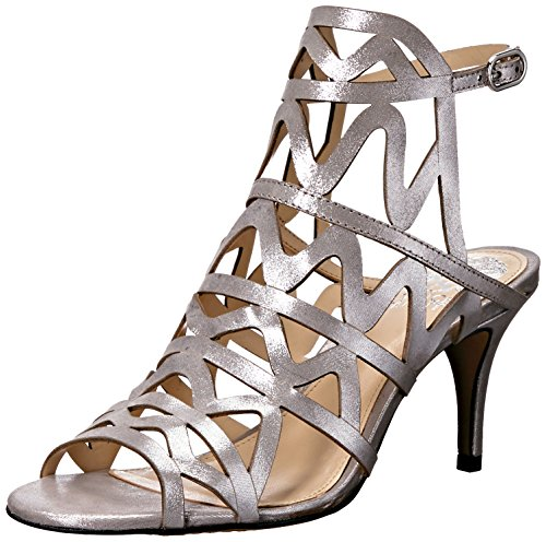 Vince Camuto Women's Prisintha Dress Sandal Pewter free shipping comfortable kNlLEjx