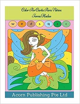 Amazon.com: Color Por Carta Para Niños: Tema Hadas (Italian ...