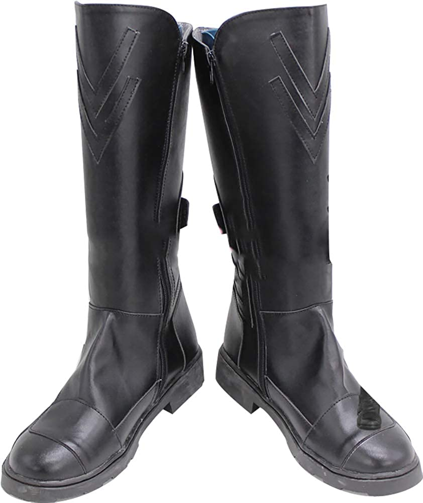 Darth Maul Star Wars Cosplay Black Shoes Boots Custom Made Halloween Cos Boots/&E