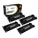 Catch Supplies Replacement CF226A Black Toner Cartridge 4 Pack for the HP 26A series |3,100 yield| compatible with the HP LaserJet Pro M402d, M402dn, M402n, and Pro MFP M426dw, M426fdn, M426fdw