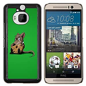 "Be-Star Único Patrón Plástico Duro Fundas Cover Cubre Hard Case Cover Para HTC One M9+ / M9 Plus (Not M9) ( Rata linda y Cookies"" )"