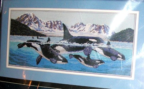 Giants of the Sea Counted Cross Stitch (Natural Shells Needlepoint)