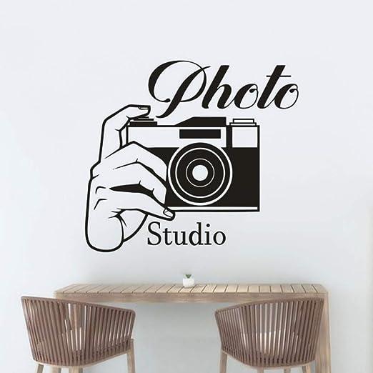 MNDDBB Estudio De Fotografía Etiqueta De La Pared Foto Cámara ...