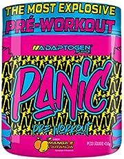 Panic Pre-Workout Manga e Laranja 450g, Adaptogen