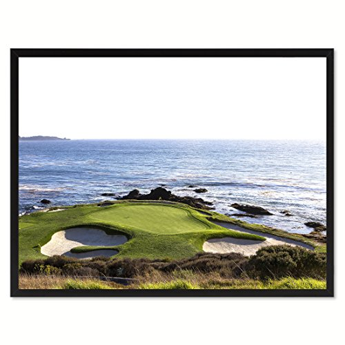 Pebble Beach Golf Course Photo Canvas Print Picture Frame Home Decor Wall Art Decoration Gift Ideas 13