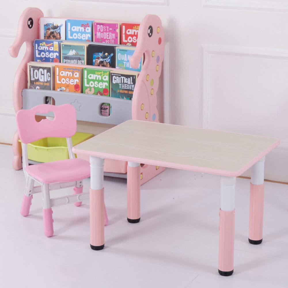 C 1 table e 1 chair CTC Tavolo e Sedia per Bambini - Tavolo da Studio per Bambini e Set Di Sedie,Tavolo da Gioco per Bambini in Plastica per Scrivania Prossoezione Ambientale Pp D   1 tavolo e 1 sedia