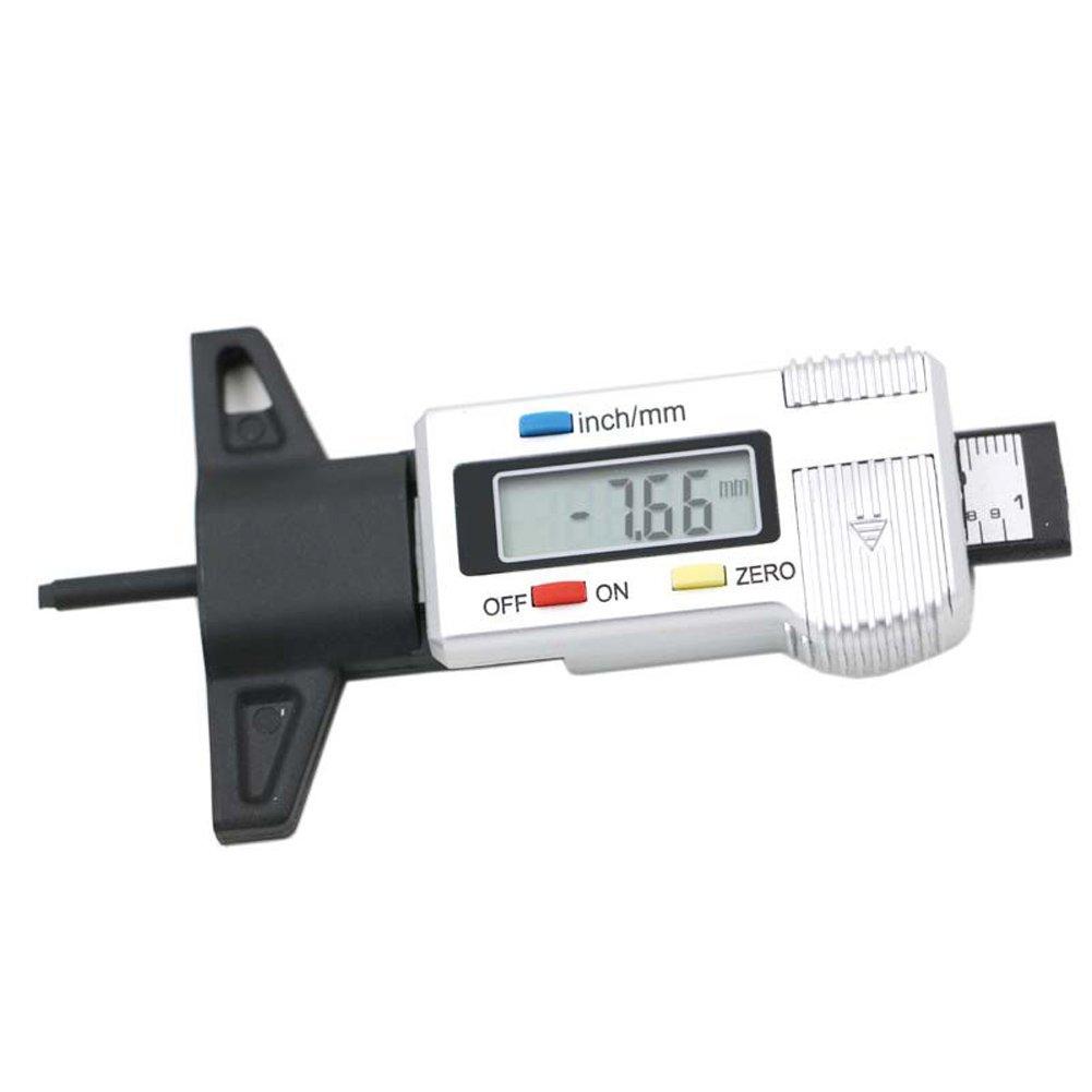 tester digitale auto pneumatico pneumatico battistrada profondimetro monitor auto pneumatici misurazione della pressione Starall manometro per pneumatici