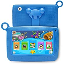 LLLtrade 7 inch Kids Education Tablets Android 5.1 8GB, Kids Software Pre-Installed, Premium Parent Control , Educational Game Apps ,Wifi ,Bluetooth (Blue)
