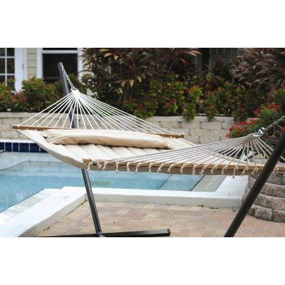 Classic Poly Quilted Hammock (Smart Garden 52325-DTP Monte Carlo Premium Poly Double Hammock)