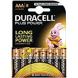 Duracell - Pila Alcalina - AAAx8 Plus Power