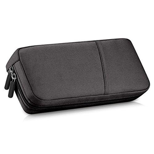 Nbboo Soft Waterproof Travel Case Bag For Nintendo Switch  Black