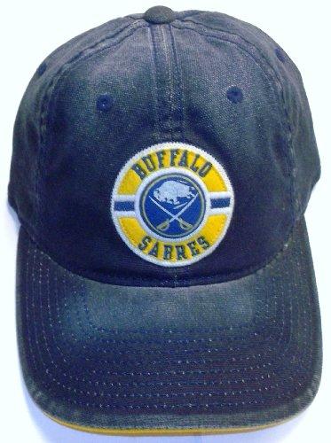 Buffalo Sabres Slouch Flex Vintage Hockey Reebok Hat Size L/XL - - Hockey Vintage Cap