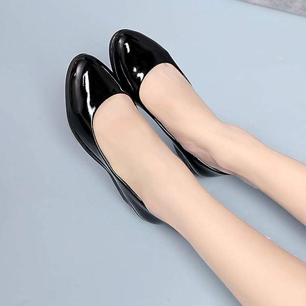 Mocasines para Mujer Mocasines Tacón Ancho Zapatos de Cordones Loafer Mocasines Plataforma Cuña Negros. Atrás. Pulsa ...